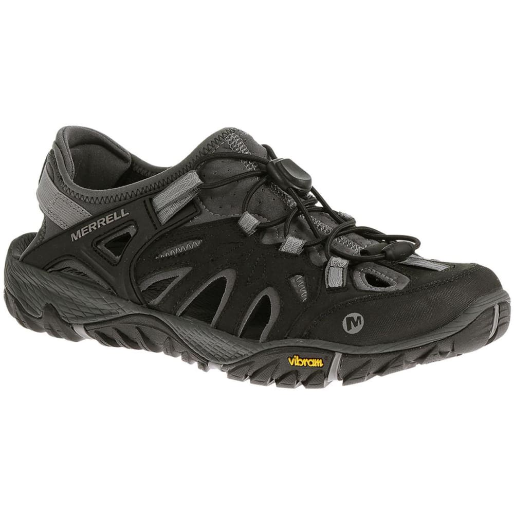 MERRELL Men's All Out Blaze Sieve - BLACK/WILD DOVE