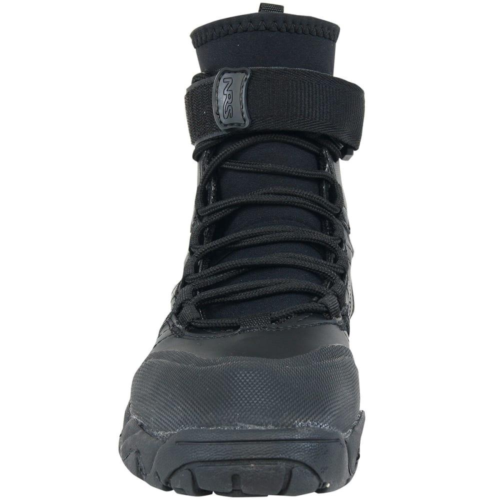 NRS Workboot Wetshoes - BLACK