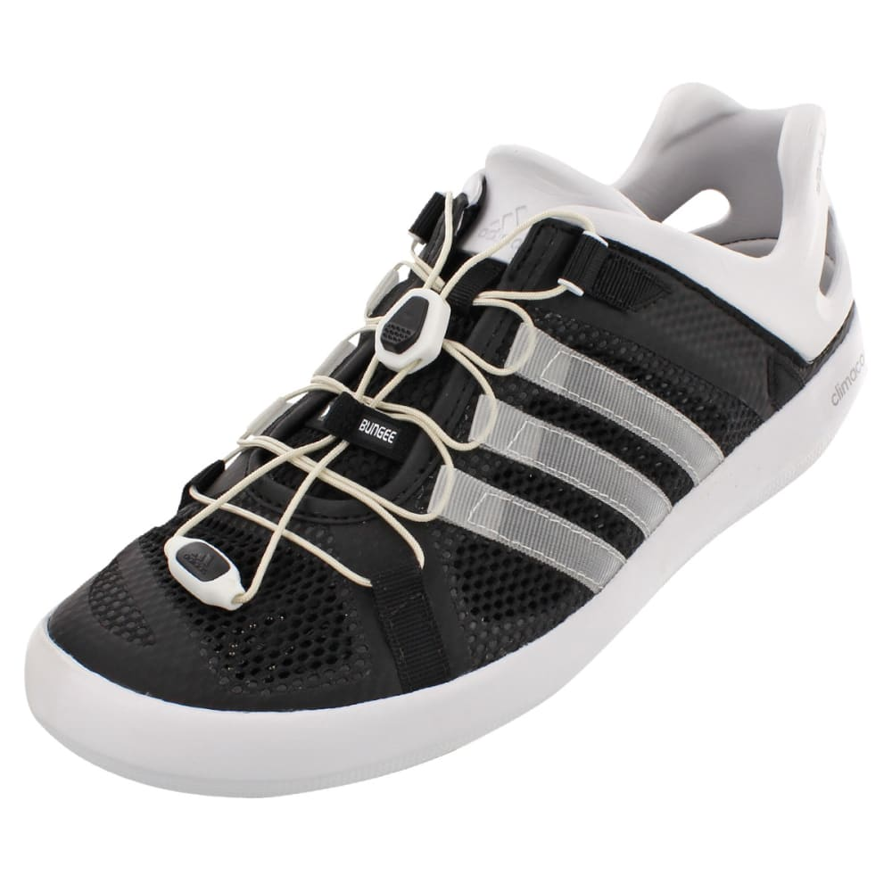 ADIDAS Men's Climacool Boat Breeze Water Shoes - BLACK/WHITE/BLACK