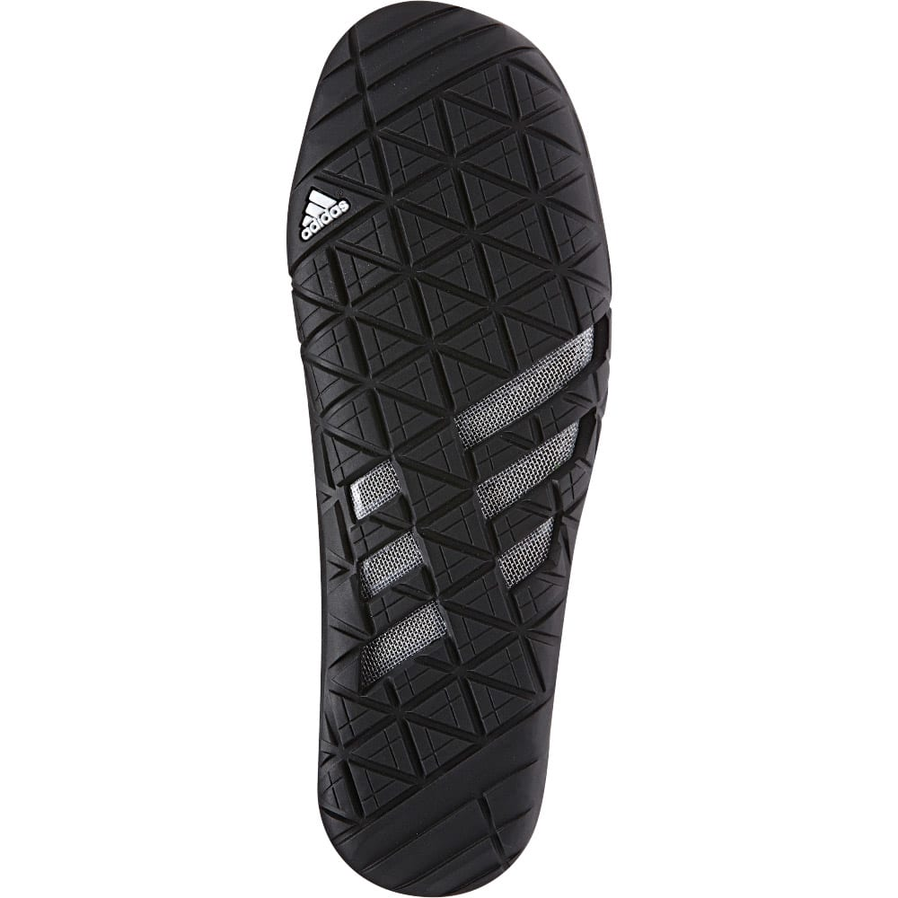 ADIDAS Men's Climacool Jawpaw Slip On Shoes - BLACK/WHITE/SILVER M