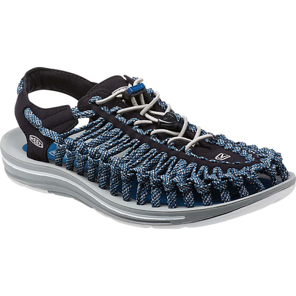 KEEN Men's Uneek Flat Cord Sandals, Black/Camo