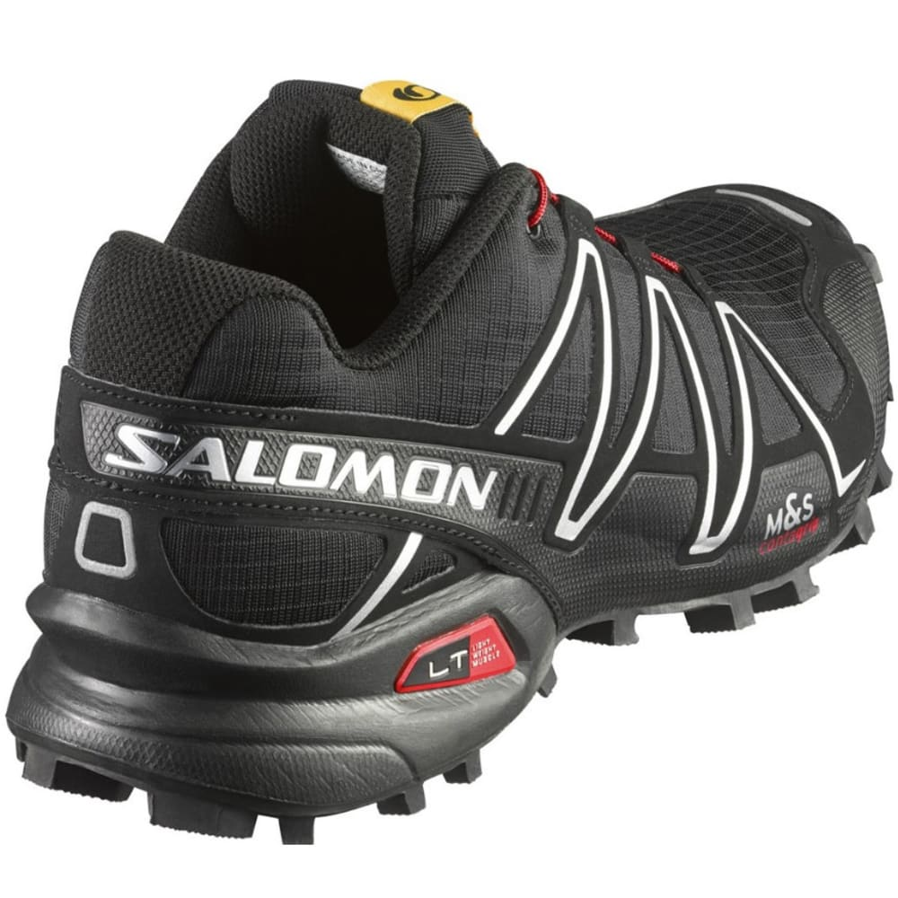 SALOMON Men's SpeedCross 3 Trail Running Shoes - BLACK