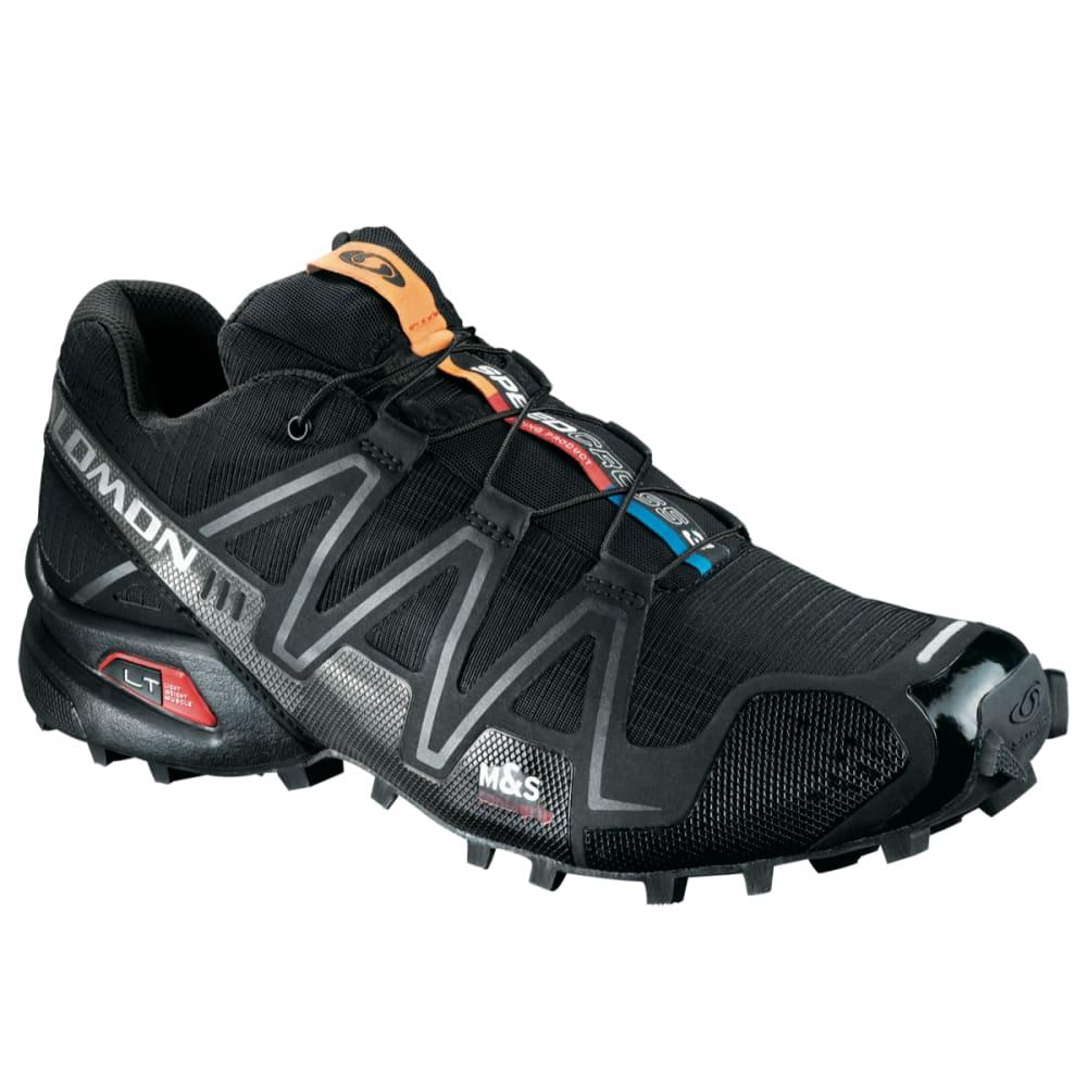SALOMON Men's SpeedCross 3 Trail Running Shoes - BLACK