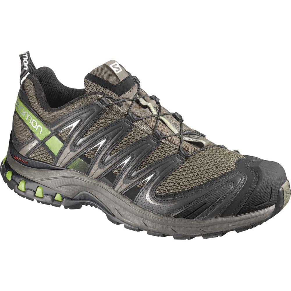 SALOMON Men's XA Pro 3D Trail Running Shoes, Swamp - SWAMP