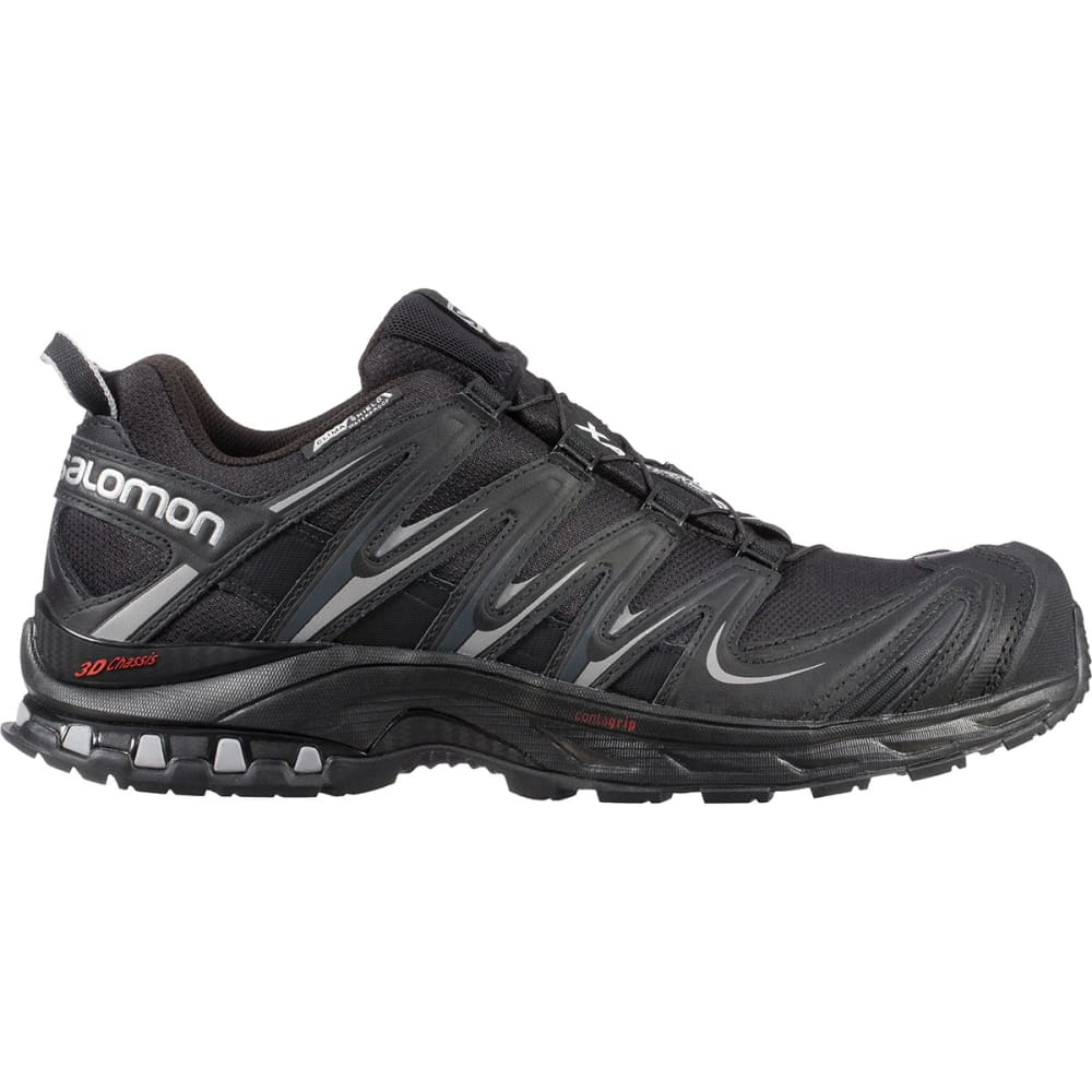 SALOMON Men's XA Pro 3D Climashield WP Trail Running Shoes - BLACK