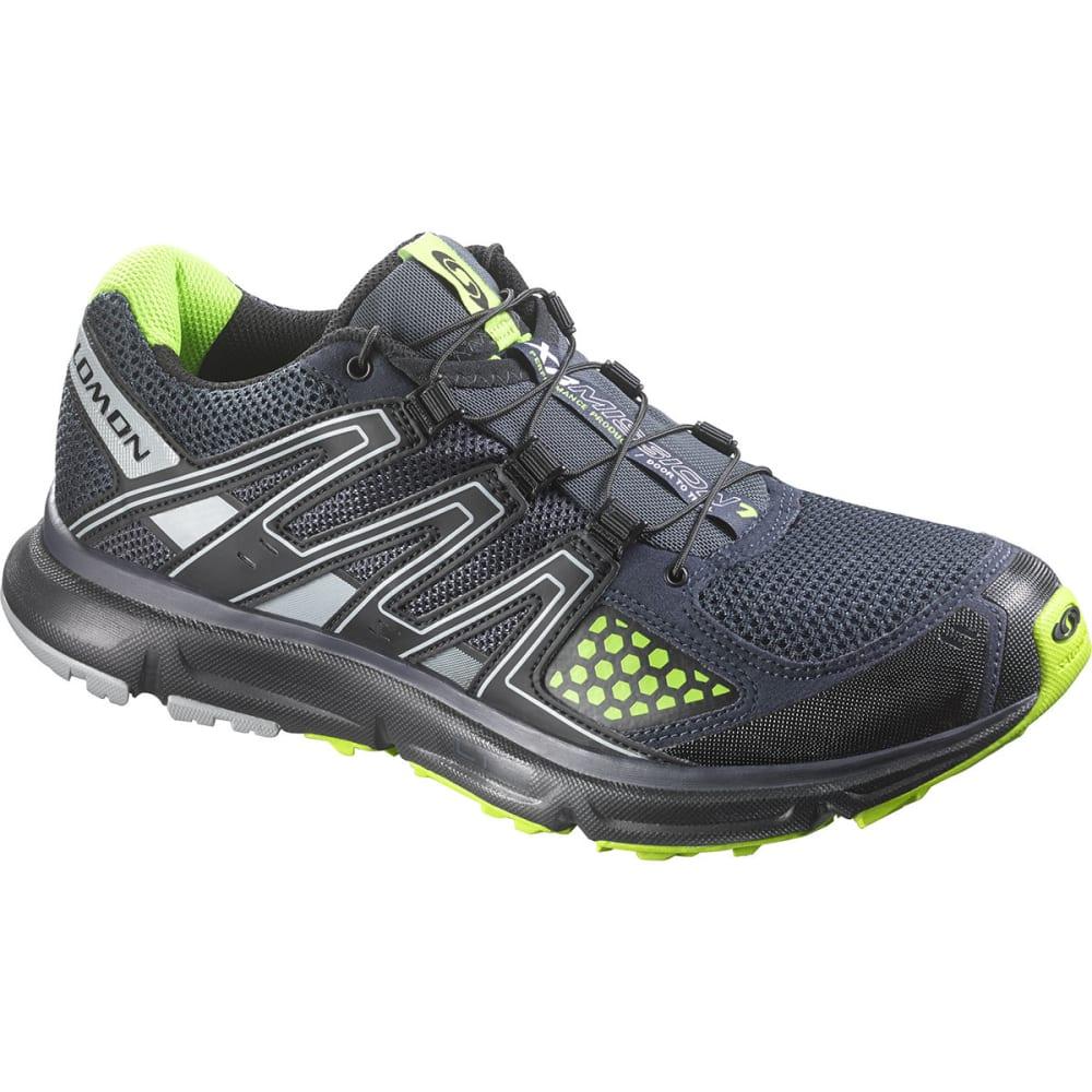 SALOMON Men's XR Mission Trail Running Shoes, Deep Blue/Grey Denim - DEEP BLUE