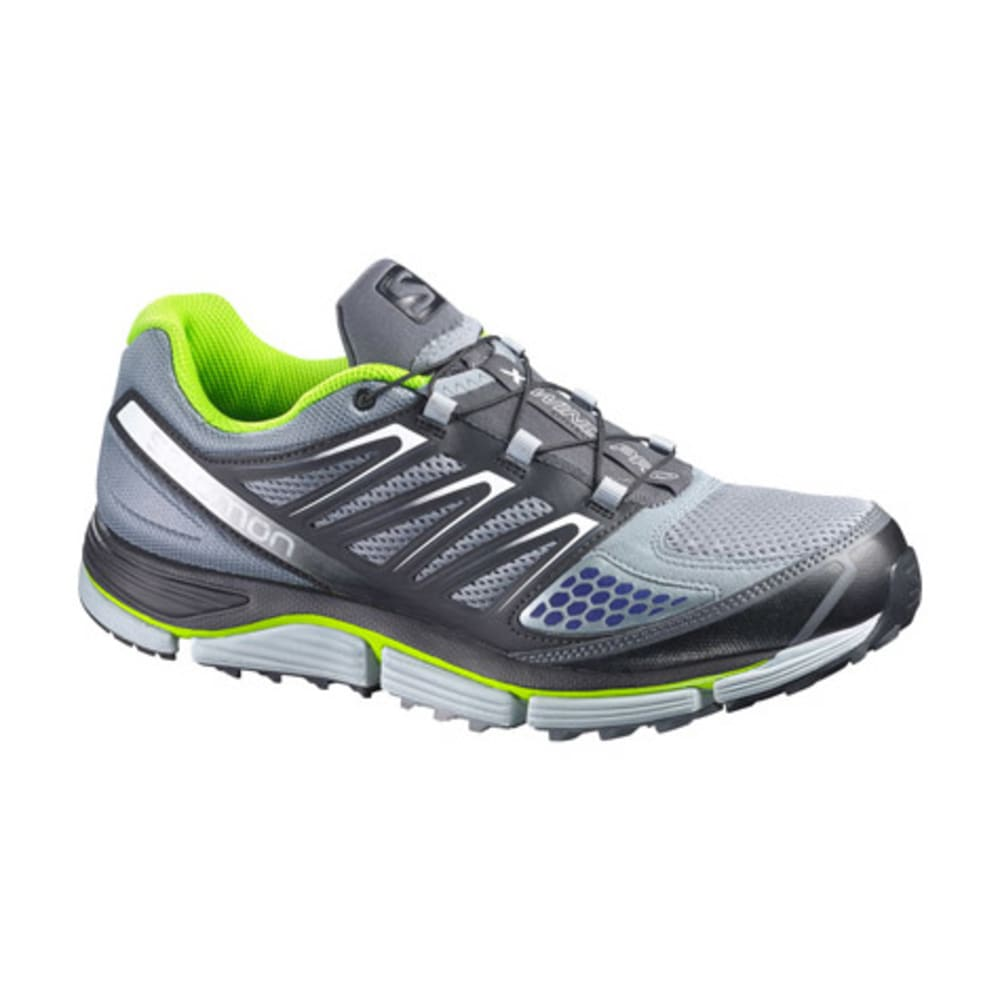 SALOMON Men's X-Wind Pro Citytrail Running Shoes, Pearl Grey - PEARL GRY/BLK/GRANNY