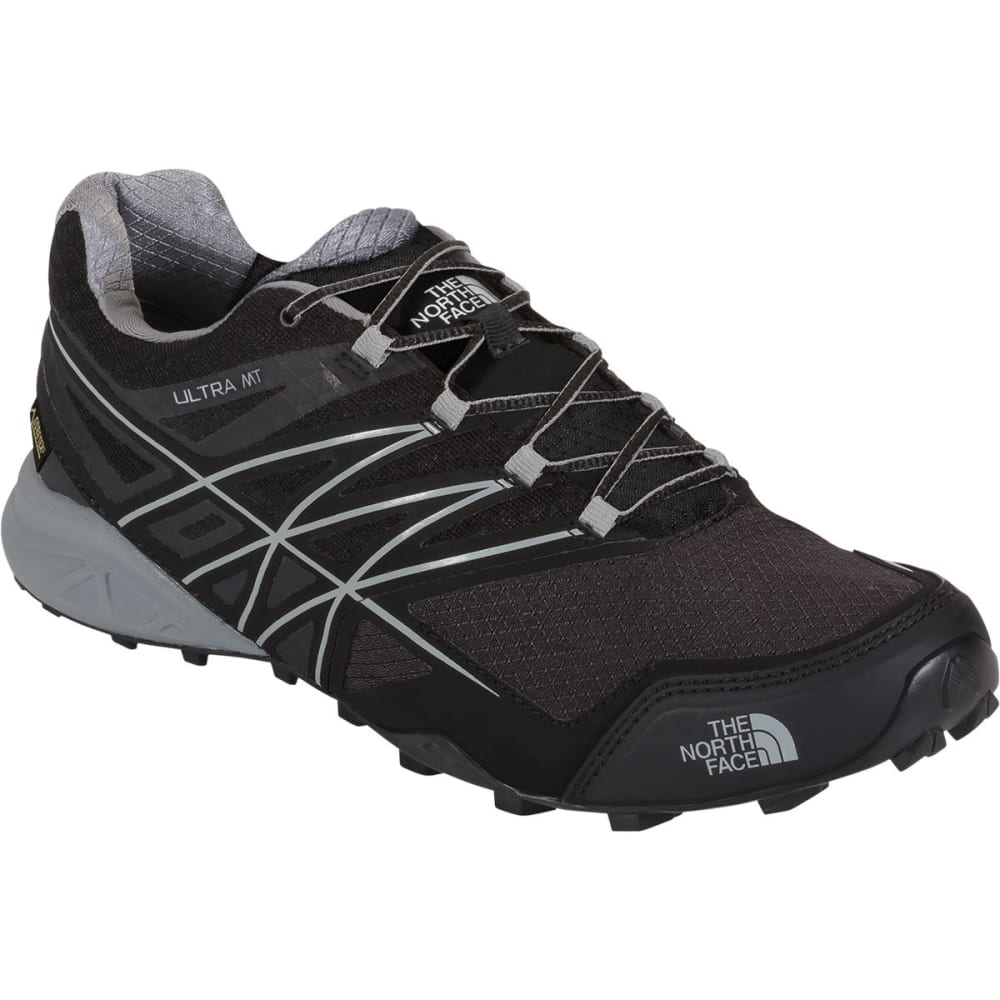 THE NORTH FACE Men's Ultra MT GTX Trail Running Shoes - BLACK