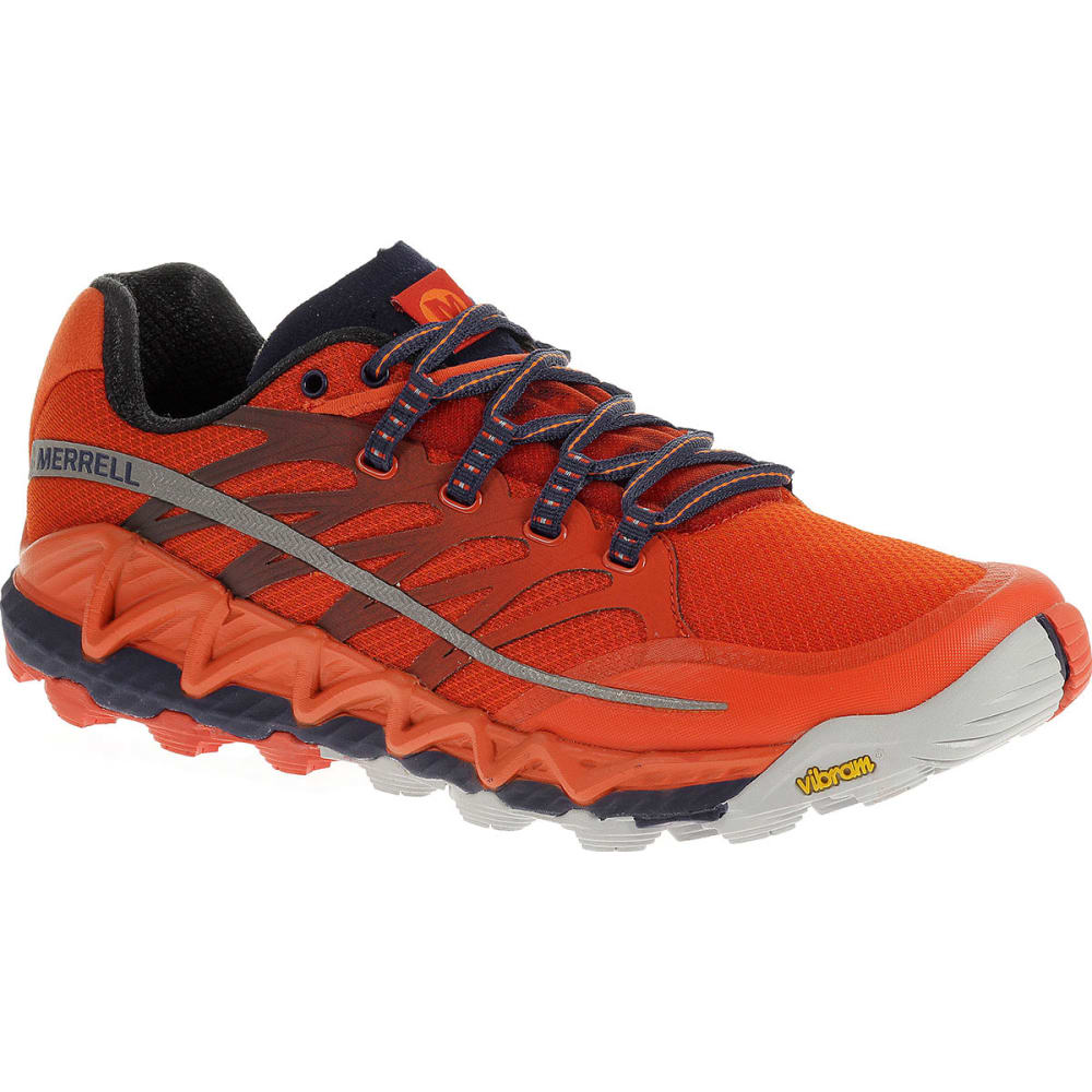 2e21db0c15bf06 MERRELL Men's All Out Peak Running Shoes, Spicy Orange/Astral Aura