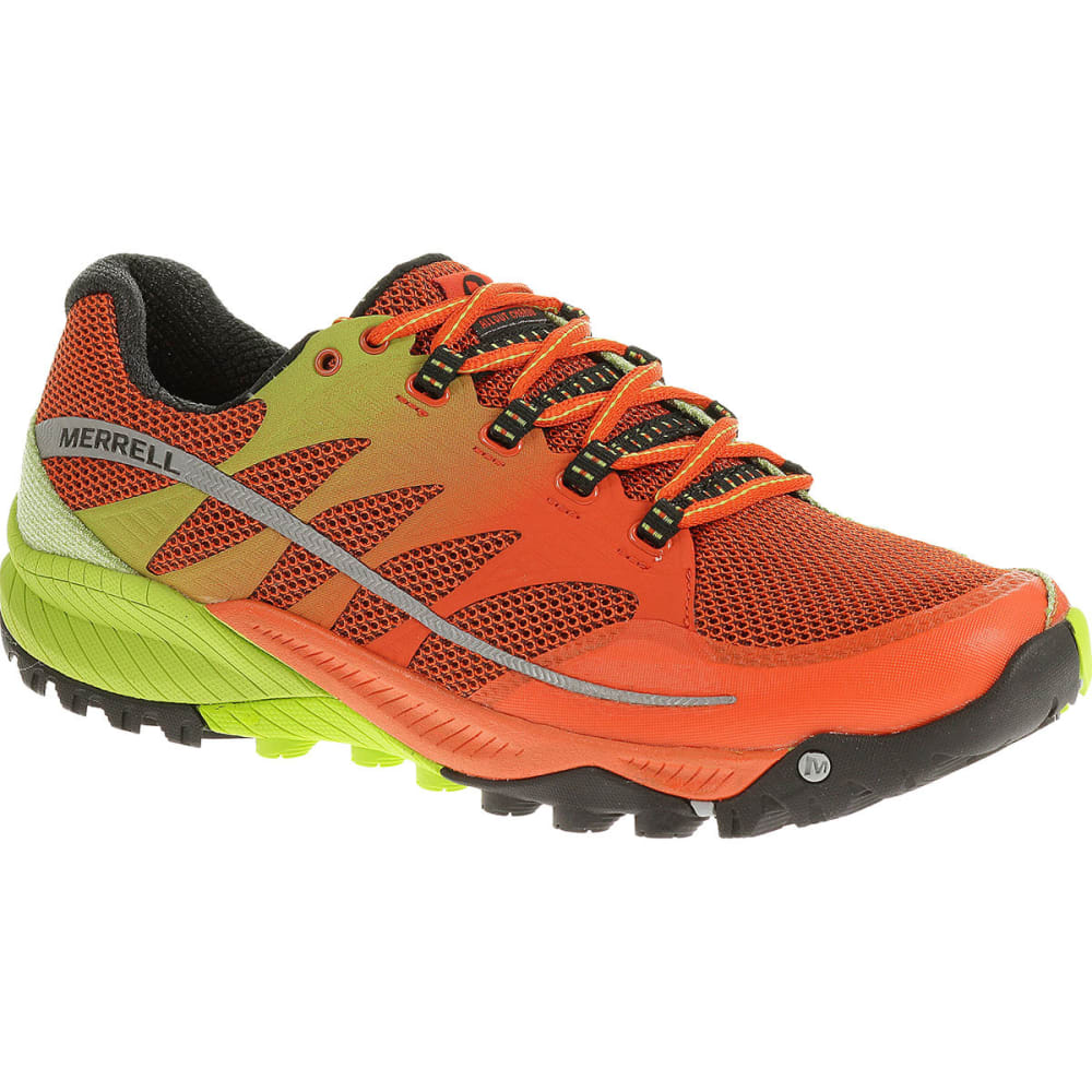 MERRELL Men's All Out Charge Trail Running Shoes, Spicy Orange/
