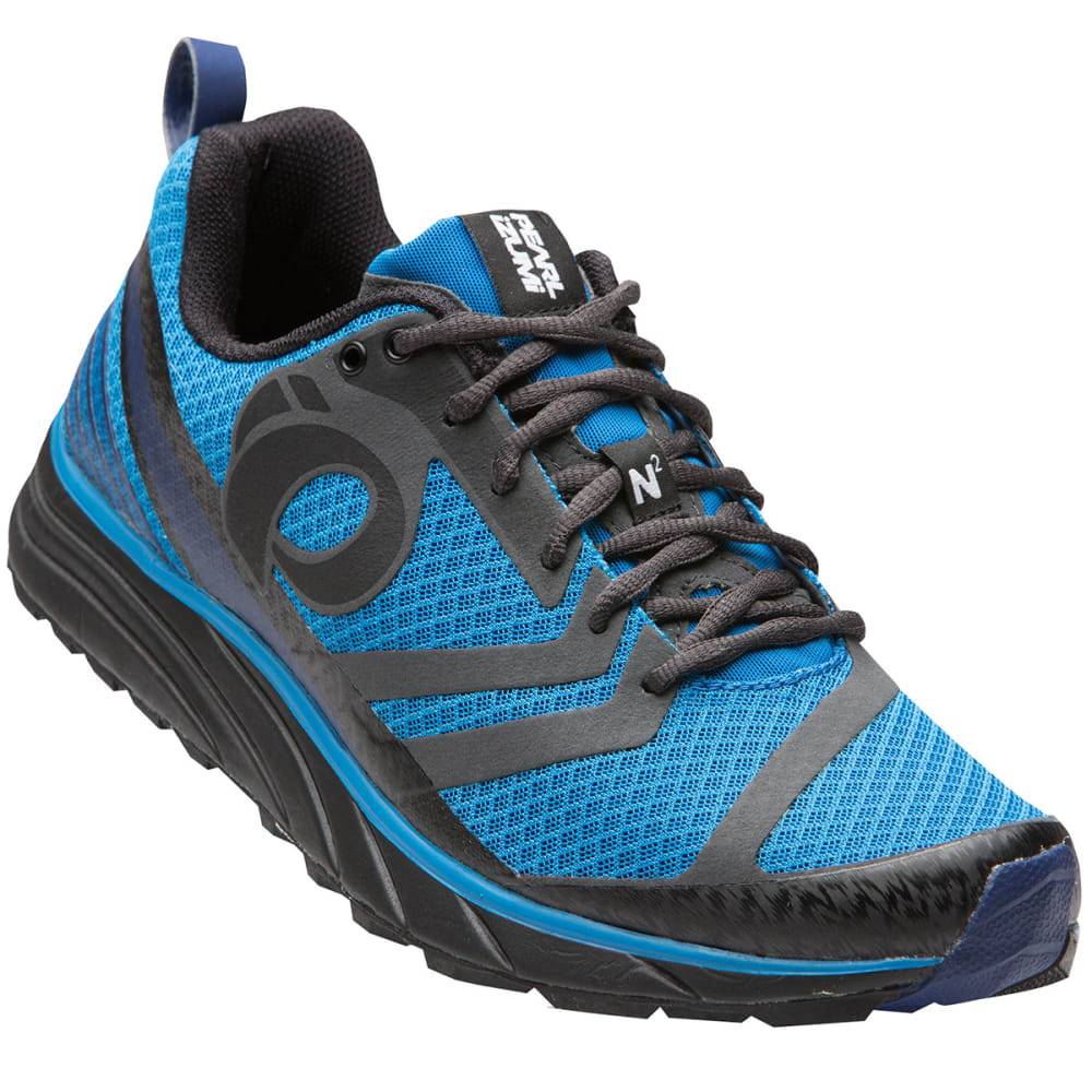 PEARL IZUMI Men's EM Trail N2 v2 Running Shoes - BLACK