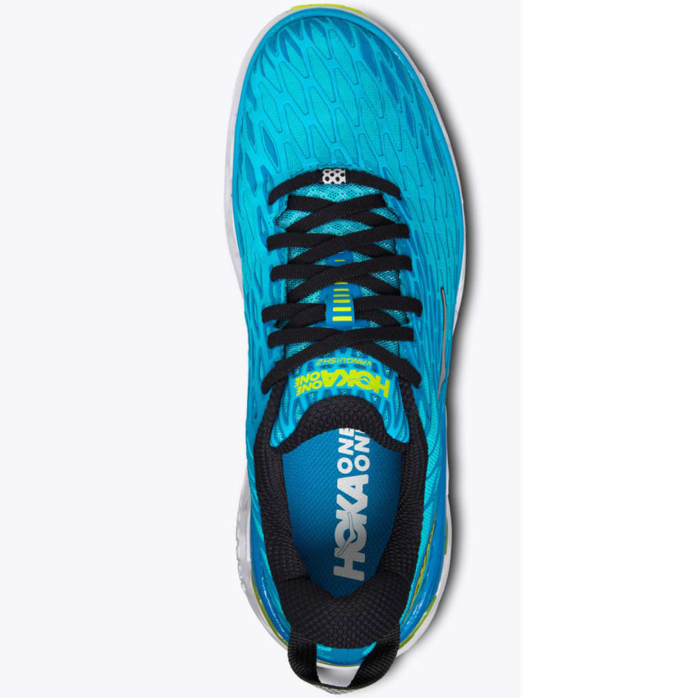 HOKA ONE ONE Men's Vanquish 2 Running Shoes - CYAN