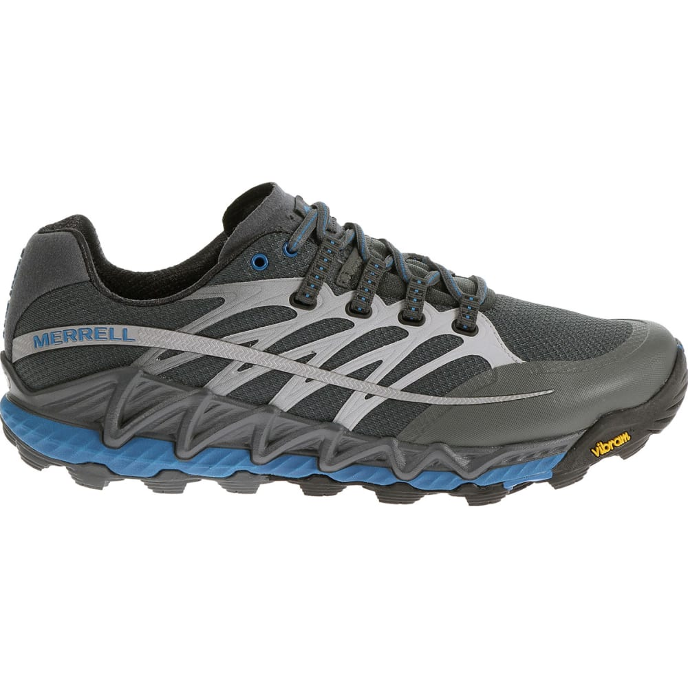 f722bd26812997 MERRELL Men's All Out Peak Trail Running Shoes, Turbulence/Blue