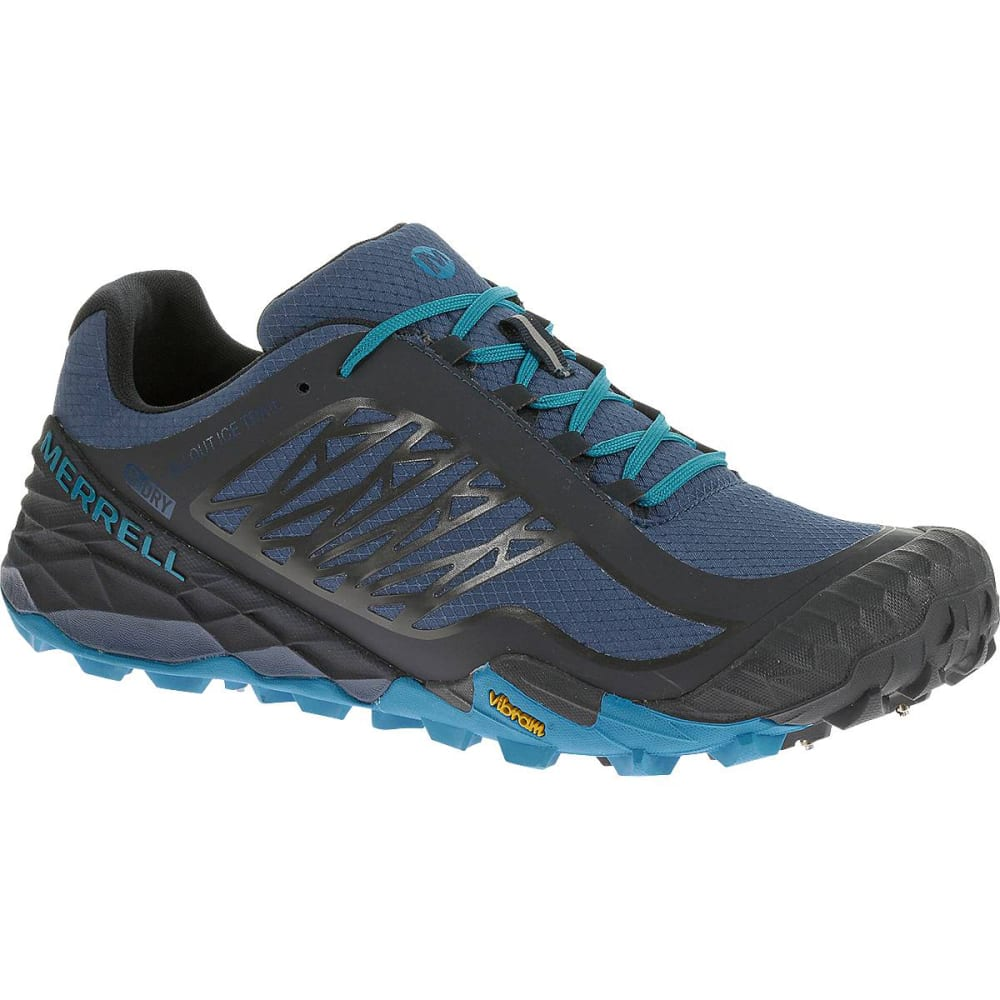 15ba280bc MERRELL Men  39 s All Out Terra Ice Waterproof Trail Running Shoes