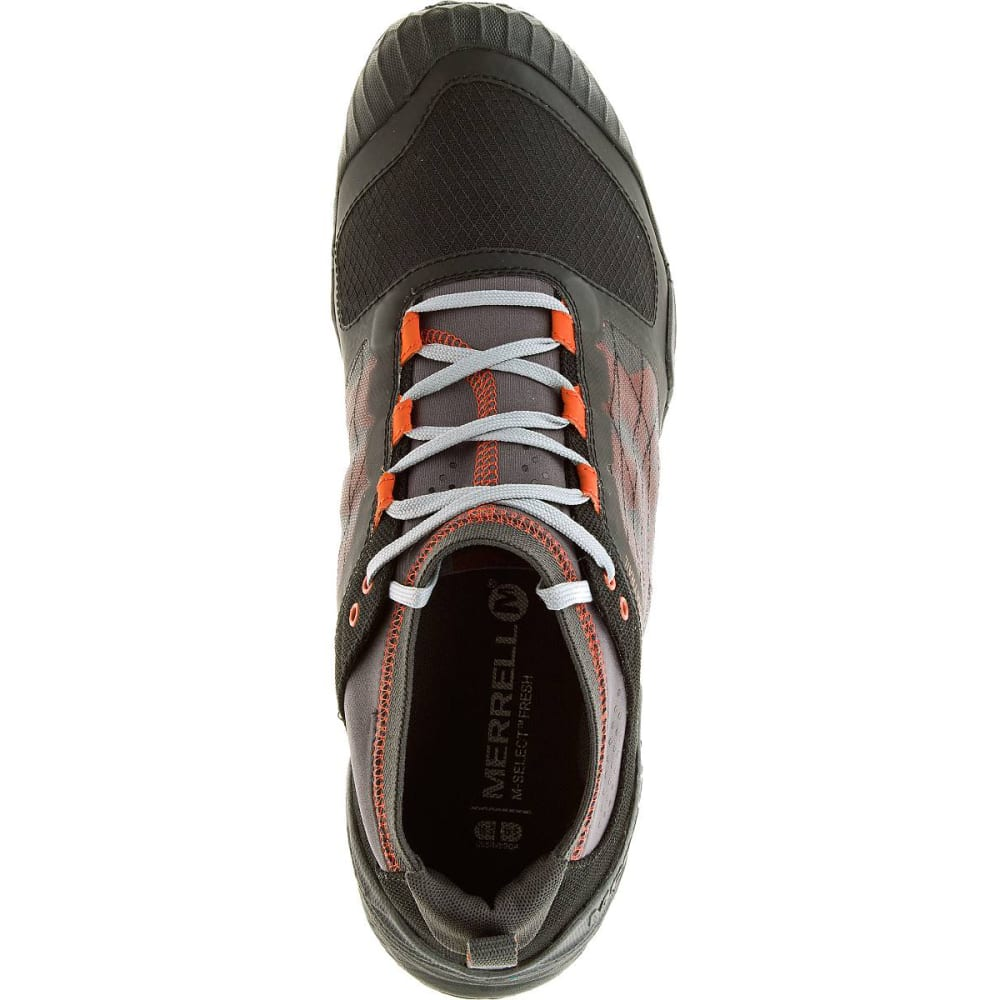 Merrell Men S All Out Terra Trail Running Shoes Black Orange