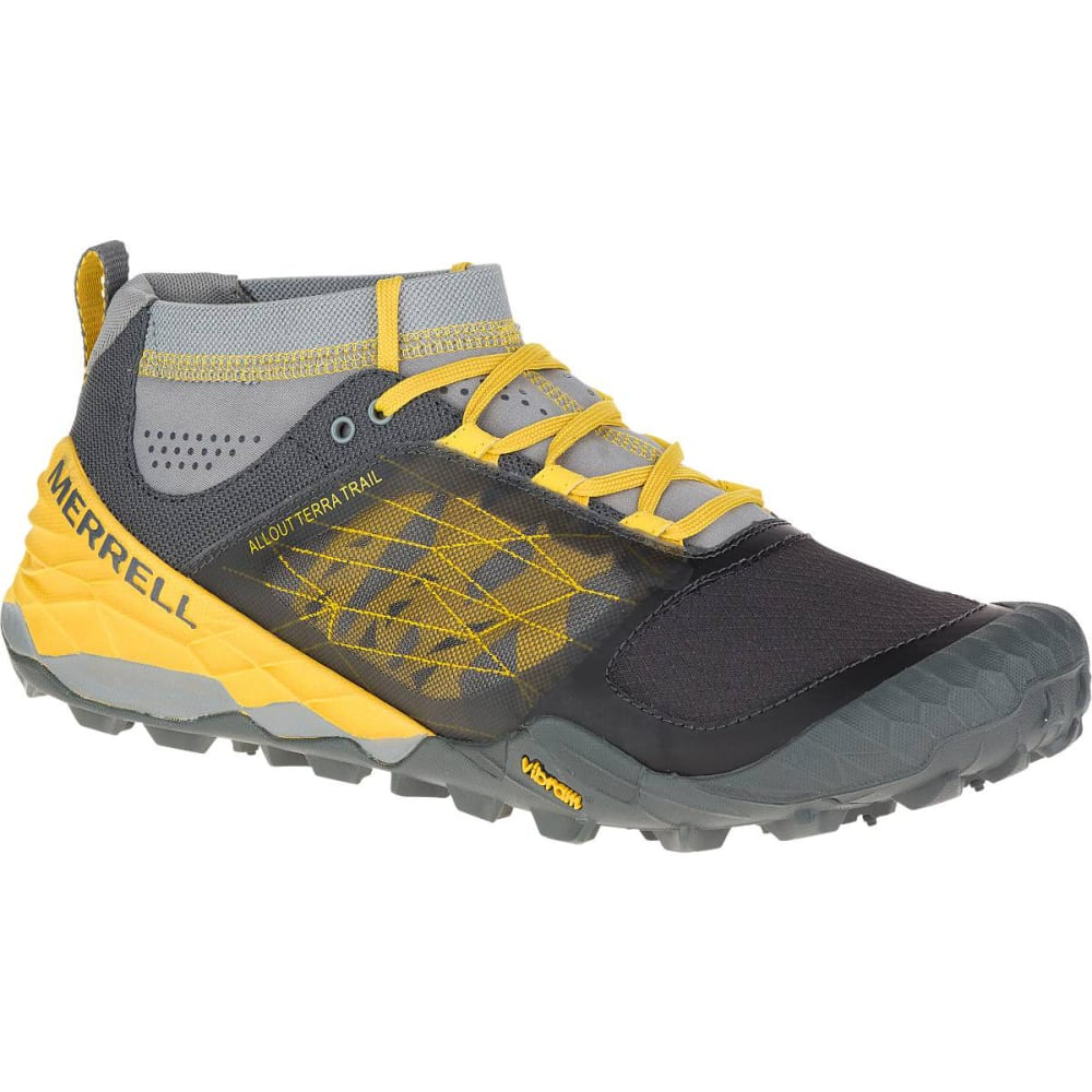 Bright Yellow Shoes Mens