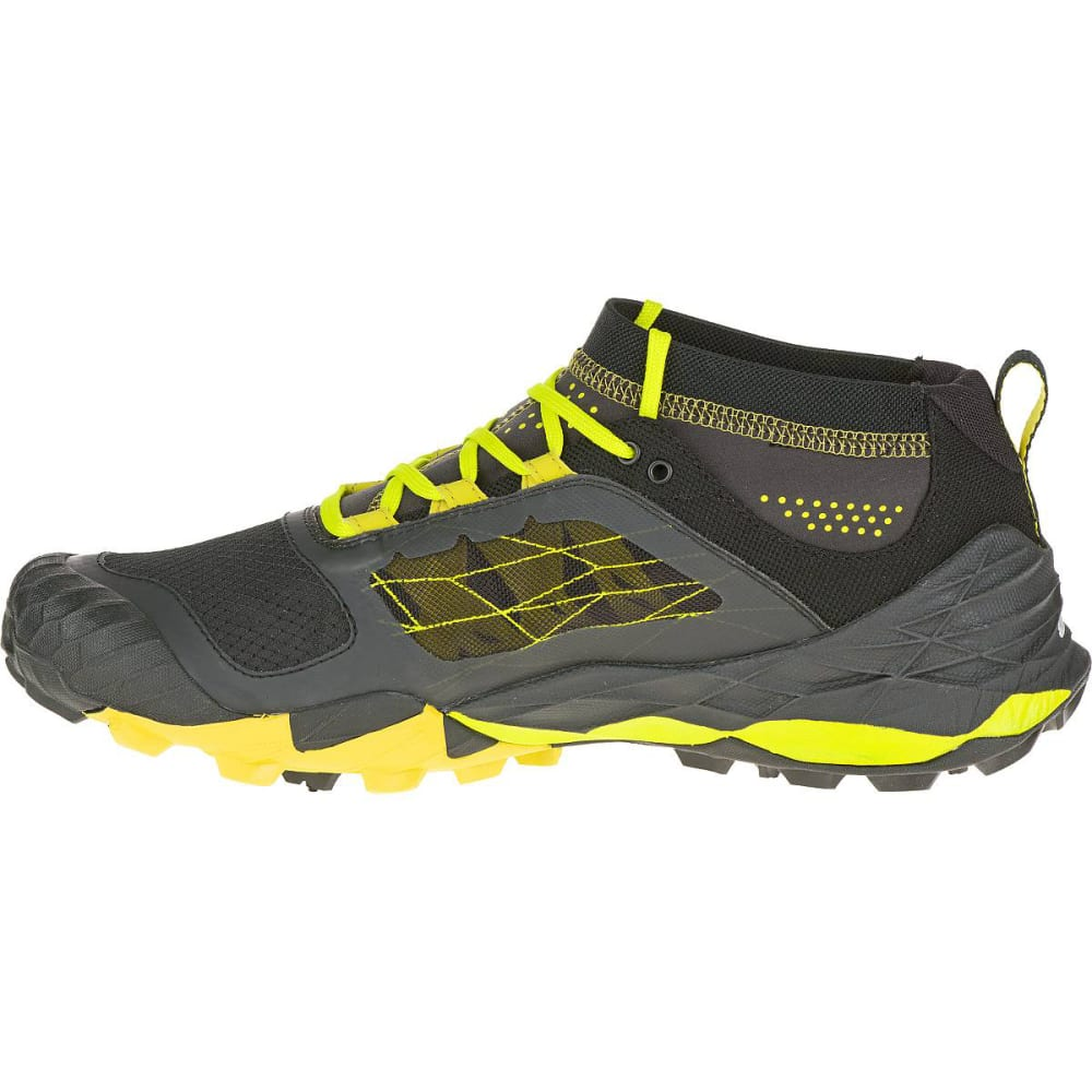 ... MERRELL Men's All Out Terra Trail Running Shoes, Yellow/Black -  YELLOW ...