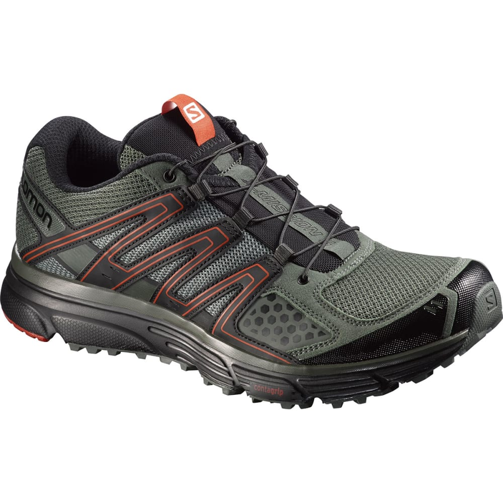 SALOMON Men's X-Mission 3 Running Shoes - MED. GREEN