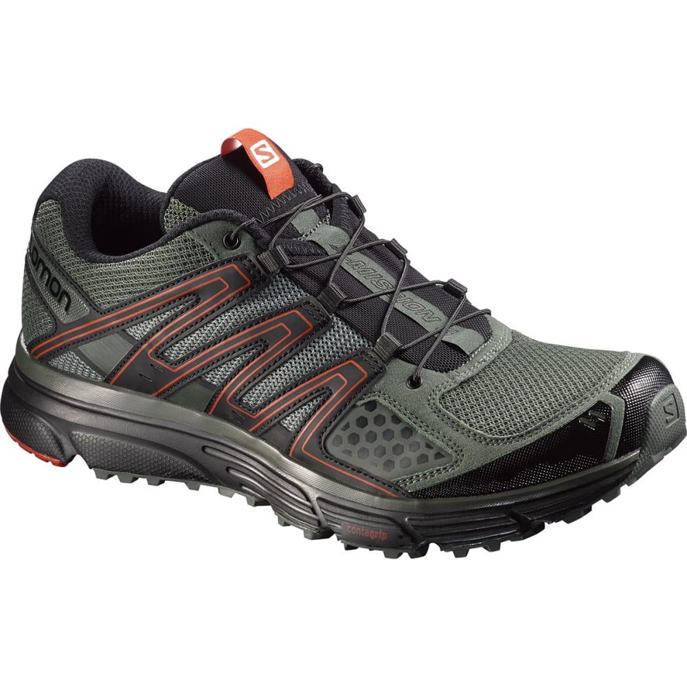 SALOMON Men's X-Mission 3 Running Shoes - MED. GREEN