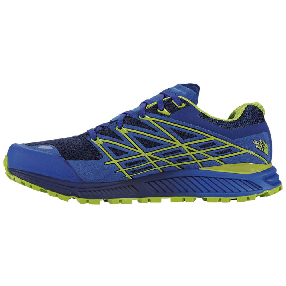 THE NORTH FACE Men's Ultra Endurance Trail Running Shoes - BLUE