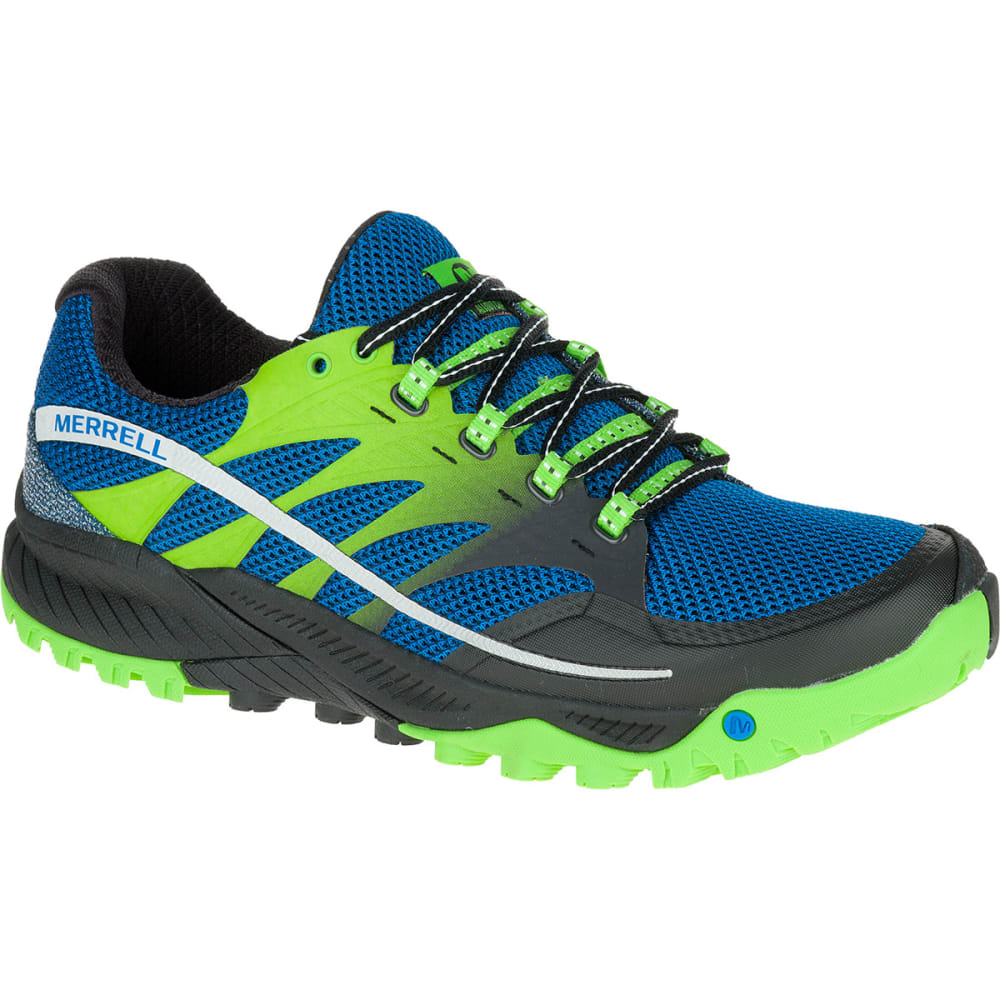 MERRELL Men's All Out Charge Running Shoes, Blue Dusk - GREY