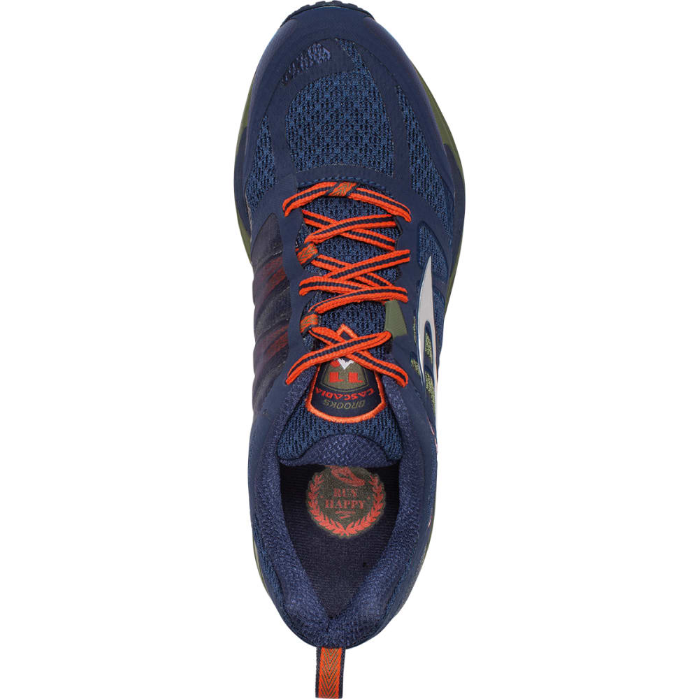 BROOKS Men's Cascadia 11 Trail Running Shoes - BLUE