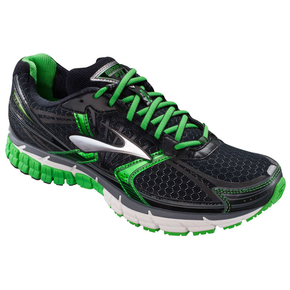 size 40 9df06 63ed6 BROOKS Men  39 s Adrenaline GTS 14 Road Running Shoes - BLACK