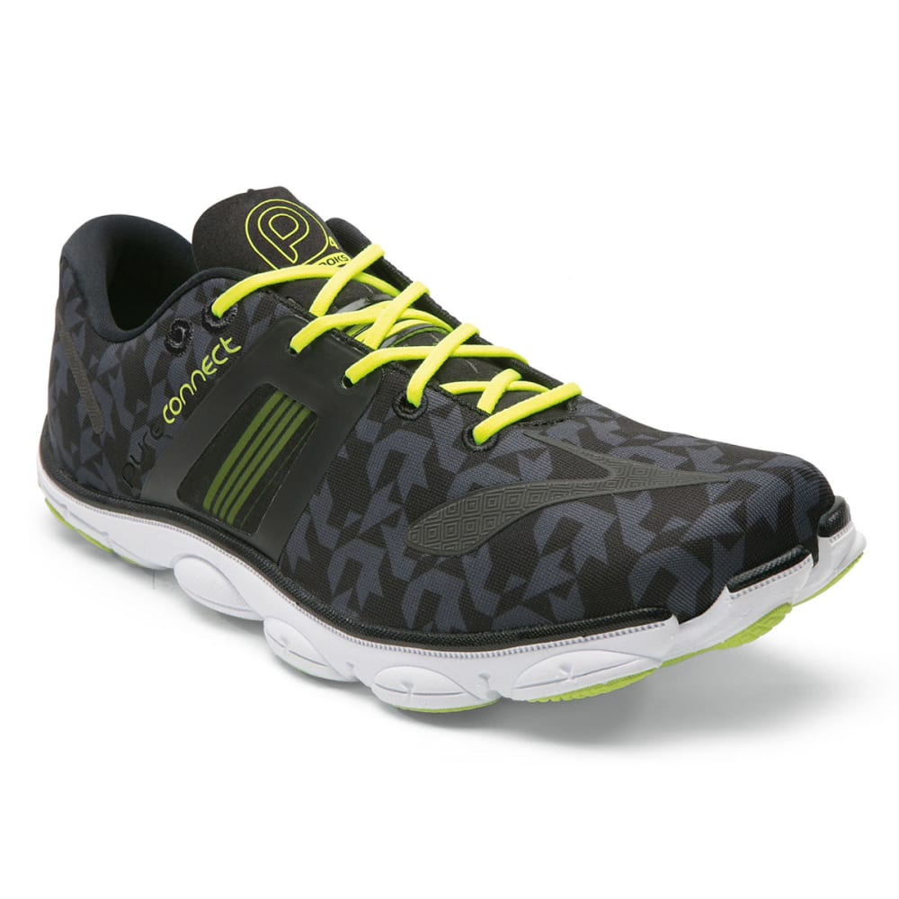 87b4e78639f BROOKS Men  39 s PureConnect 4 Minimalist Running Shoes - BLACK