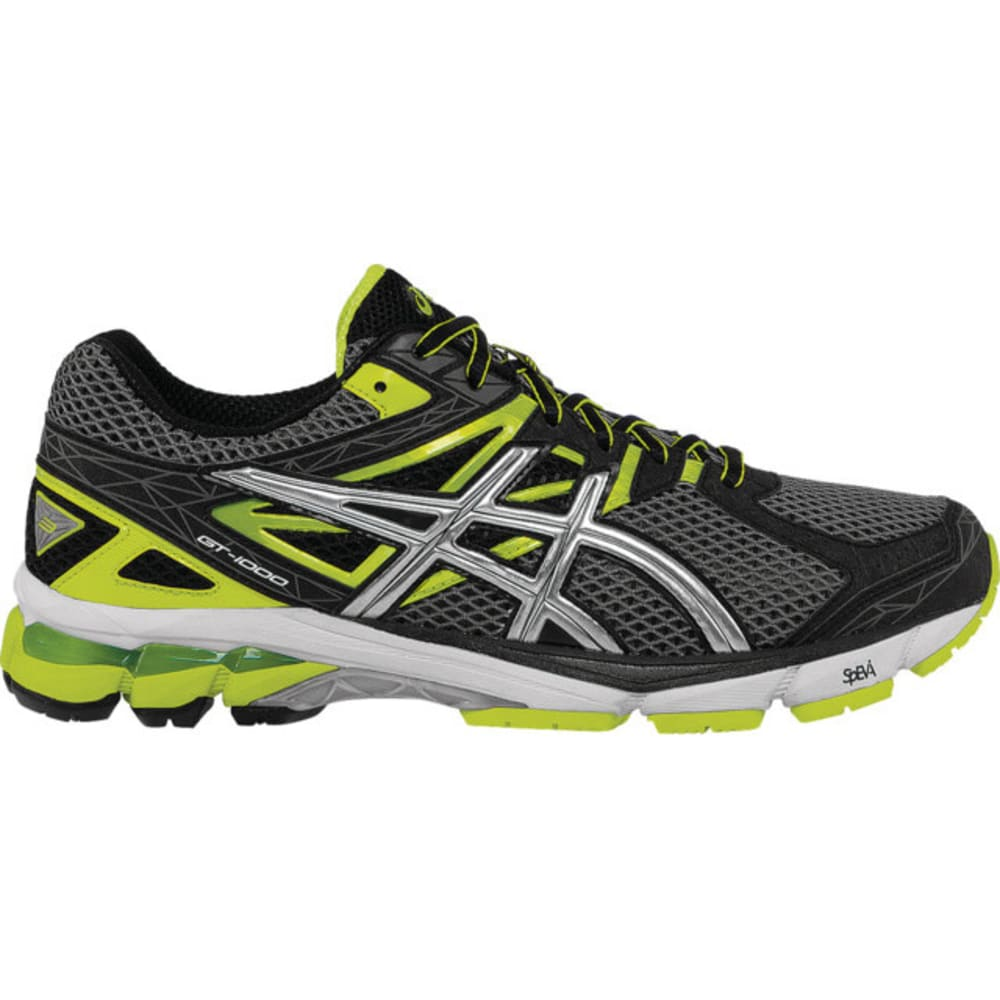 ASICS Men's GT-1000 3 Road Running Shoes - GRAY