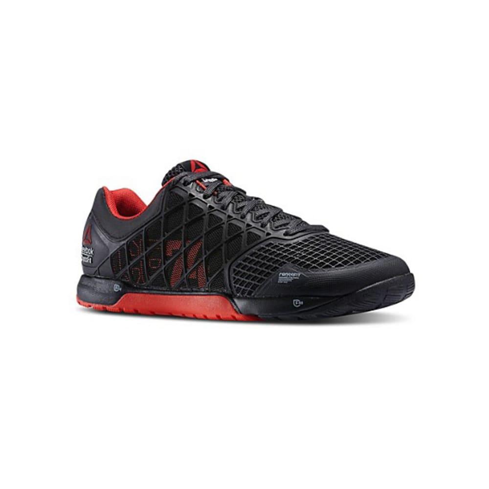 REEBOK Men's CrossFit Nano 4.0 Shoes - BLACK/RED