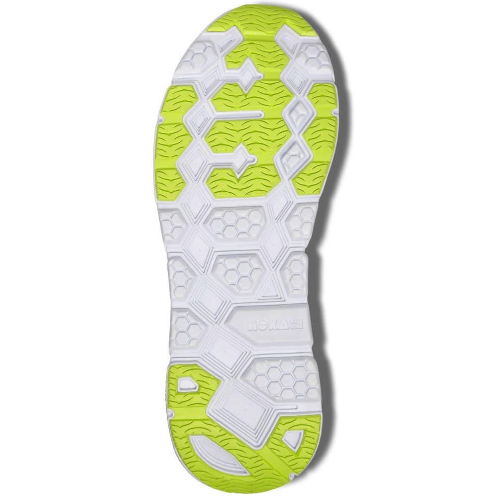 uk availability 2c080 c5988 HOKA ONE ONE Men's Clifton 2 Running Shoes, Grey/Orange Flash