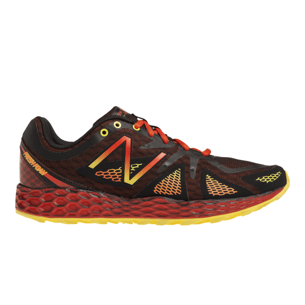 New Balance Men's 980v1 Trail Running Shoes - BLACK/RED