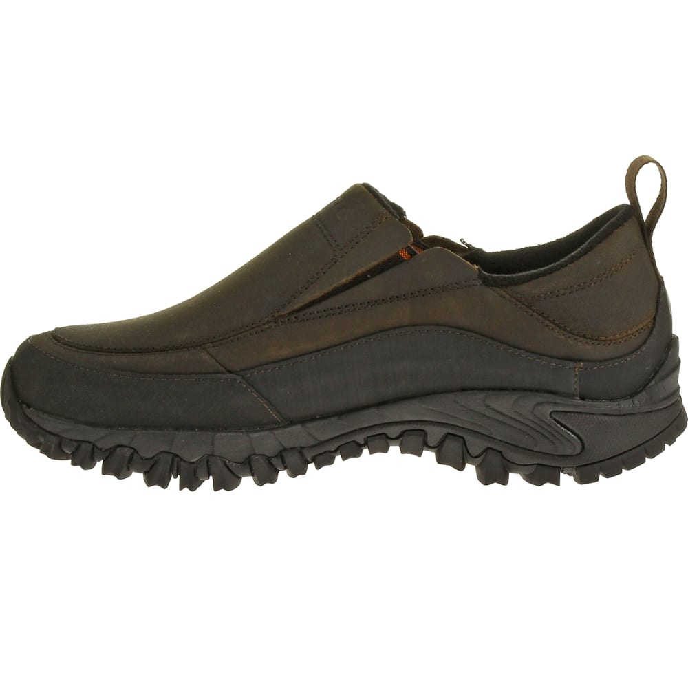 MERRELL Men's Shiver Moc 2 WP Shoes, Dark Earth - DARK EARTH