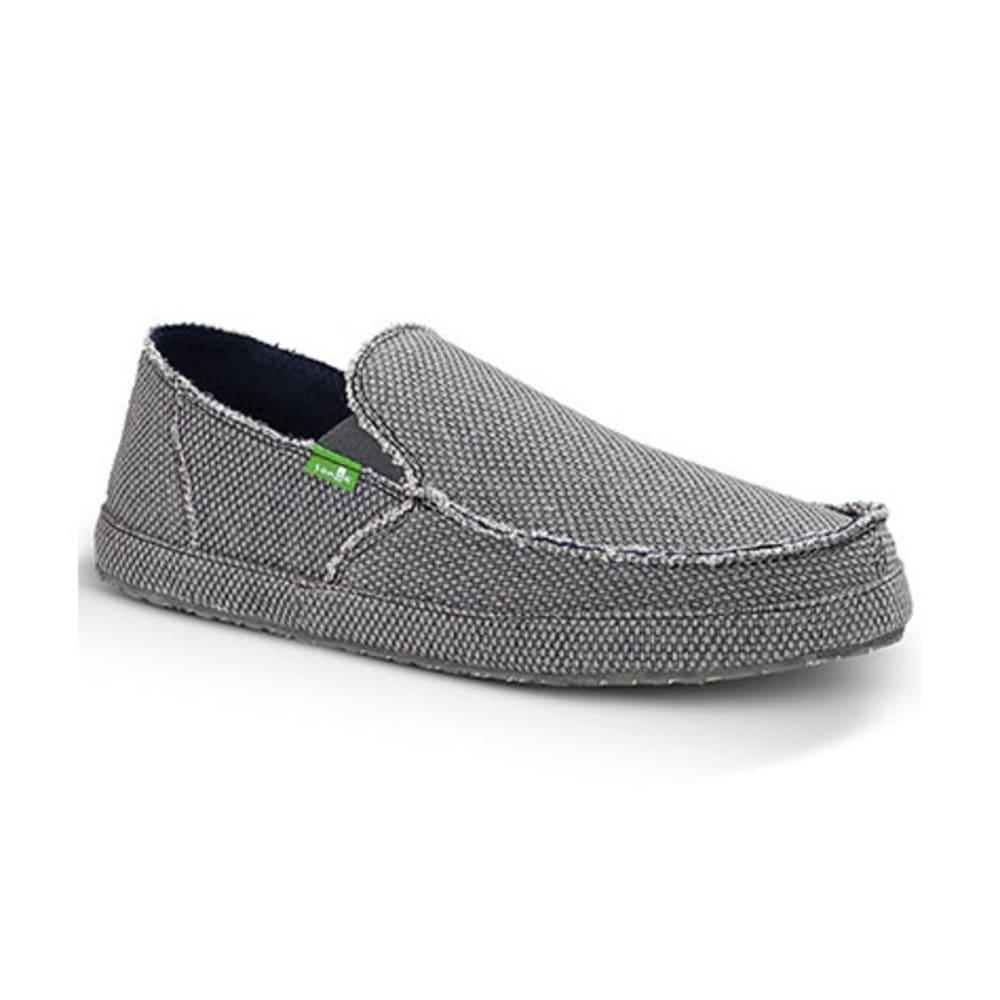 SANUK Men's Rounder Shoes - CHARCOAL
