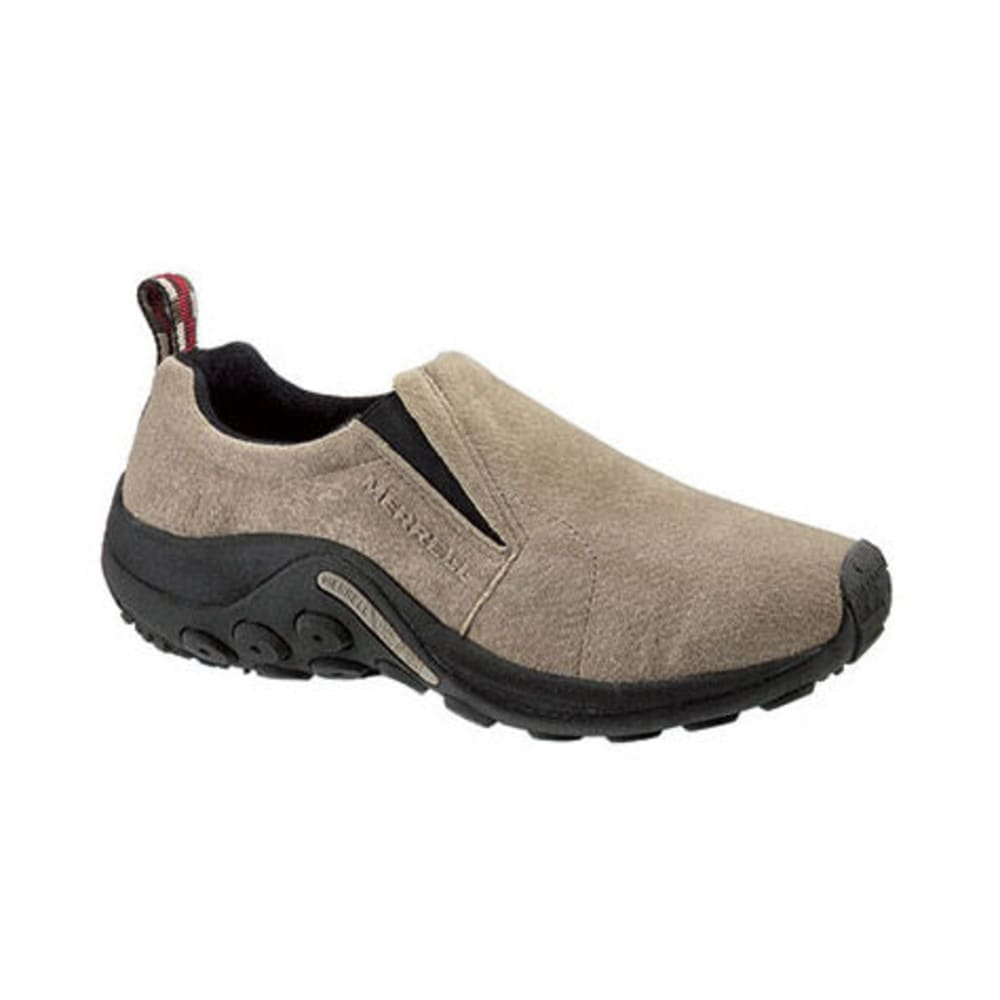 MERRELL Men's Jungle Mocs Wide, Taupe - TAUPE