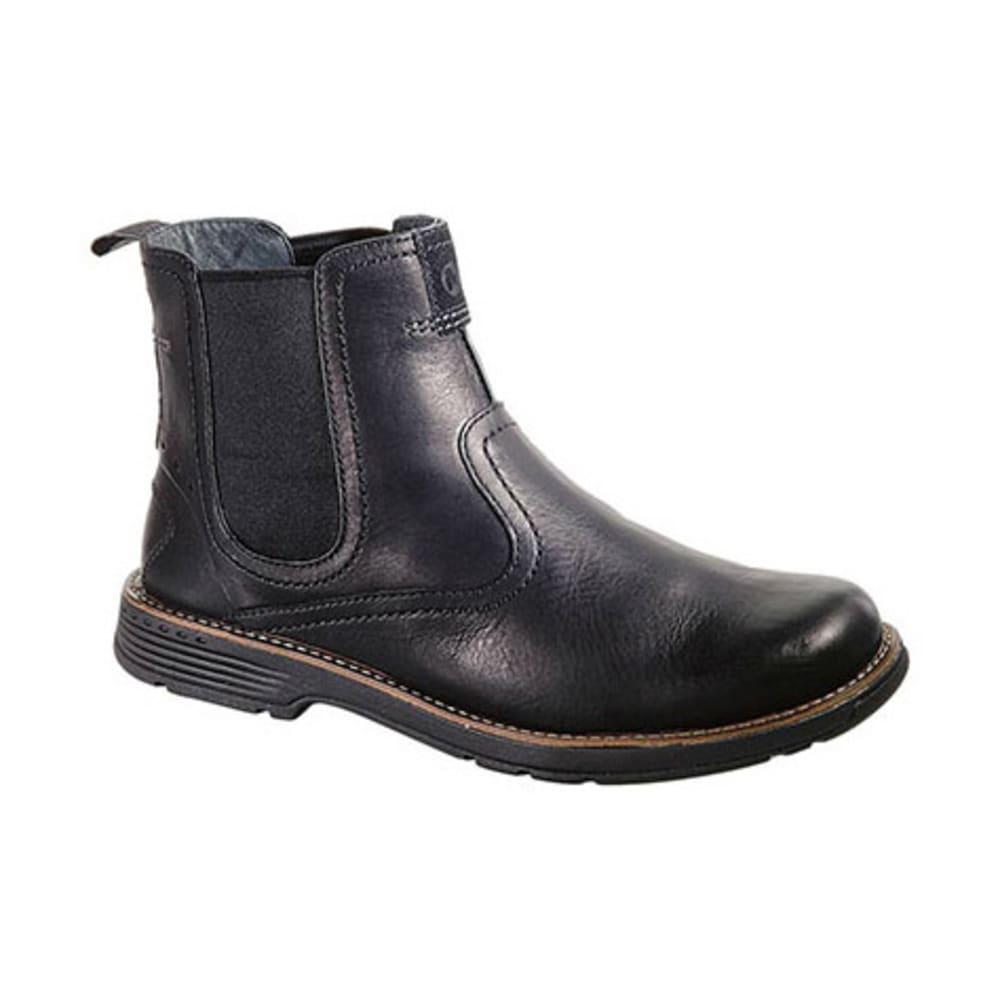 MERRELL Men's Realm Pull Boots, Black - BLACK