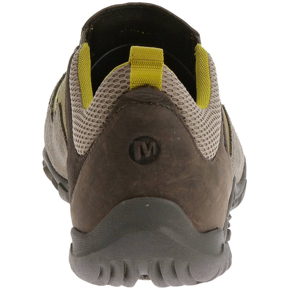 MERRELL Men's Telluride Moc Shoes, Brindle - BRINDLE