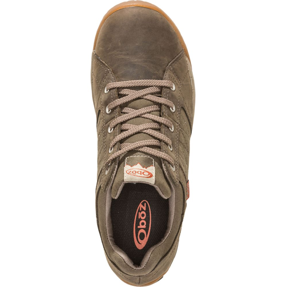 OBOZ Men's Mendenhall Low Shoes, Tarmac - TARMAC