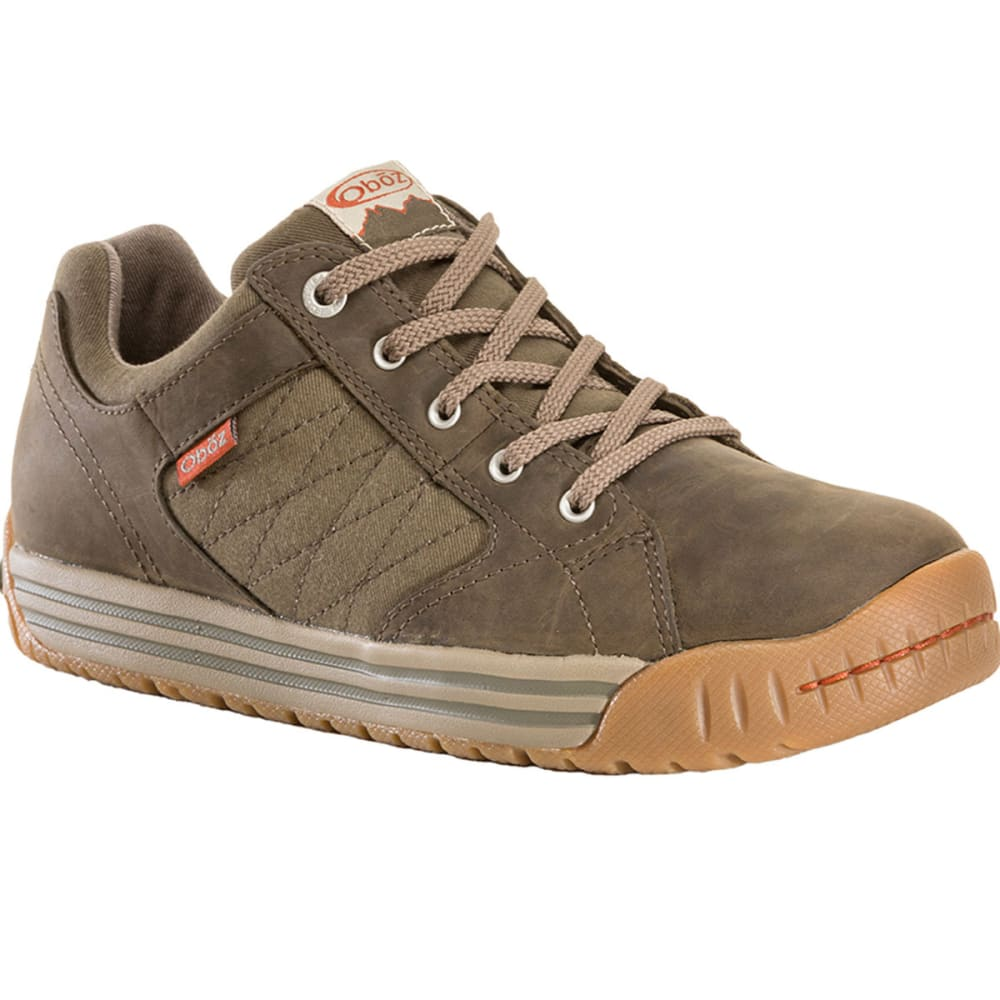 OBOZ Men's Mendenhall Low Shoes, Tarmac - TARMAC