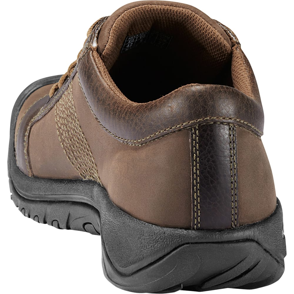 KEEN Men's Austin Lace-Up Shoes, Chocolate Brown - CHOCOLATE