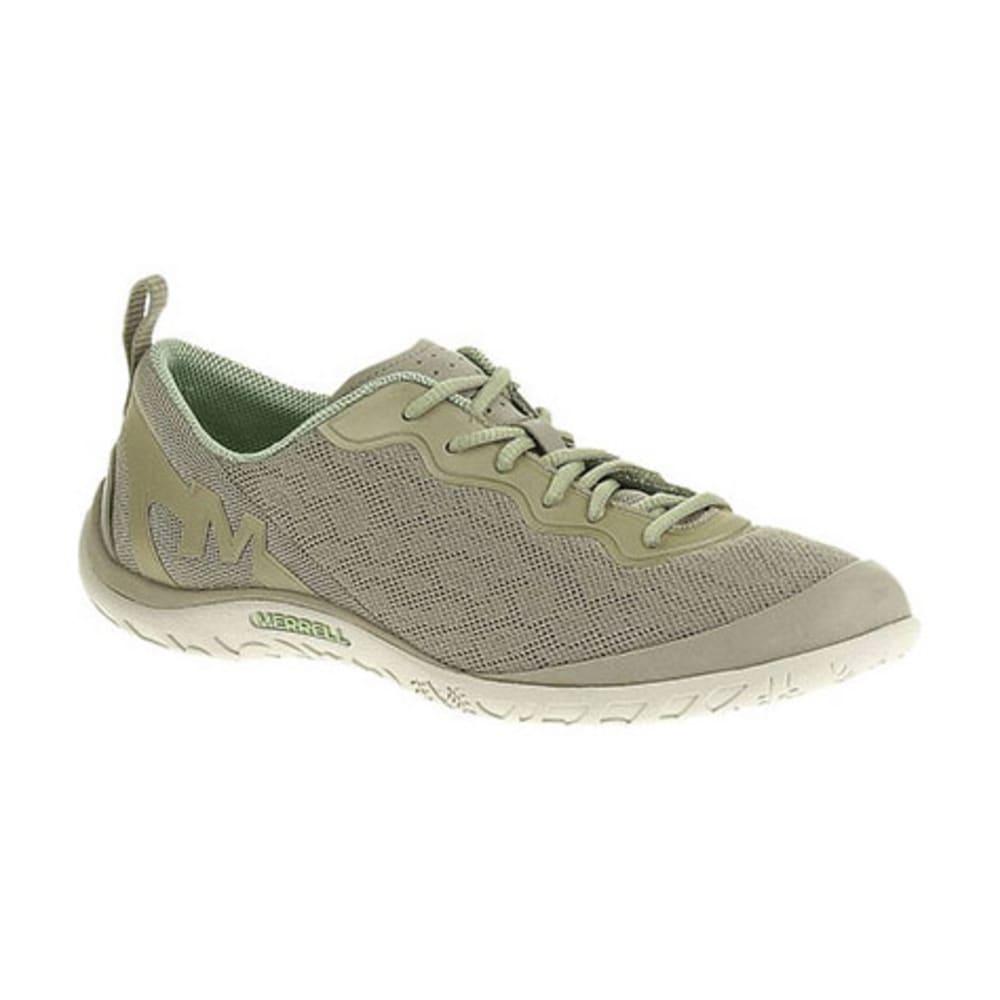 MERRELL Women's Enlighten Shine Breeze Shoes, Aluminum - ALUMINUM