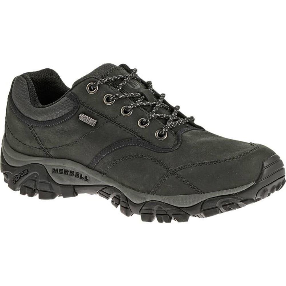 MERRELL Men's Moab Rover Waterproof Shoes, Black - BLACK