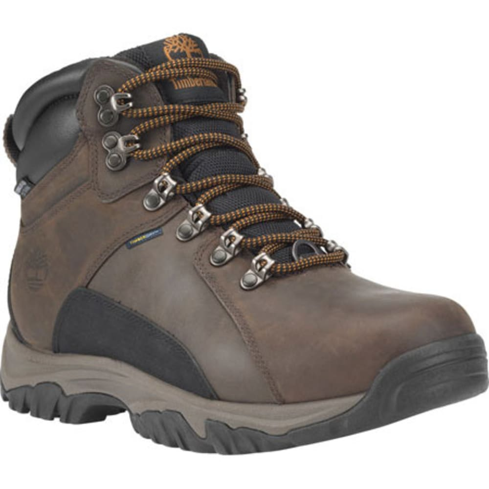 TIMBERLAND Men's Thorton Mid Waterproof Insulated Warmlined Boots - DARK BROWN