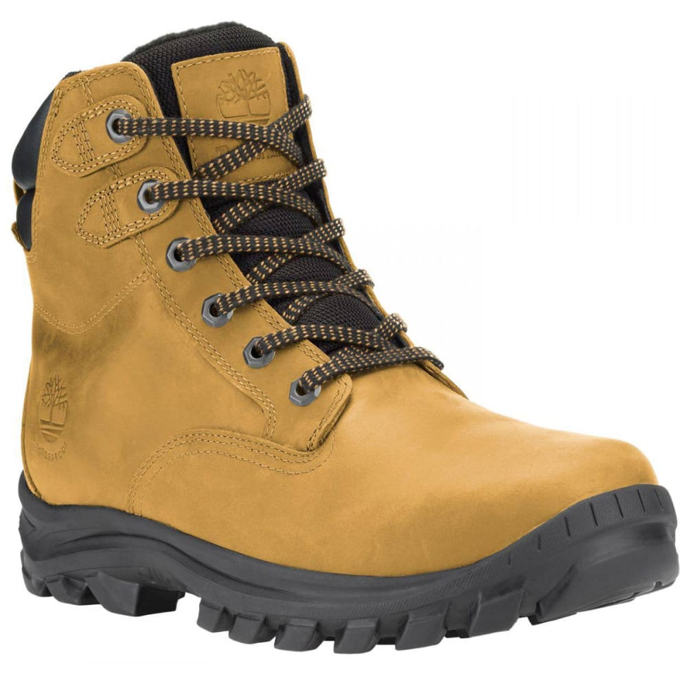 TIMBERLAND Men's Earthkeepers Chillberg Mid WP Winter Boots, Wheat - WHEAT