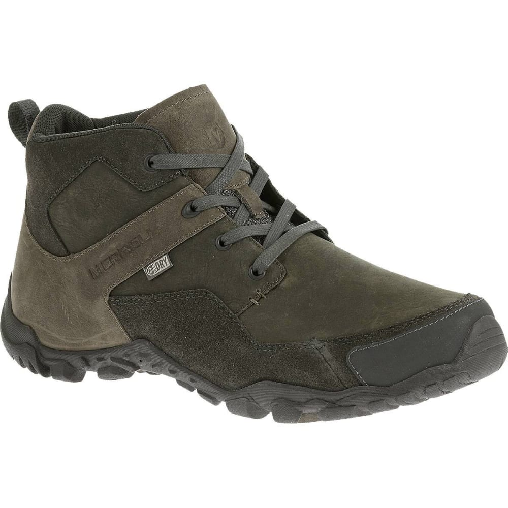 MERRELL Men's Telluride Mid Waterproof Boots - GRANITE