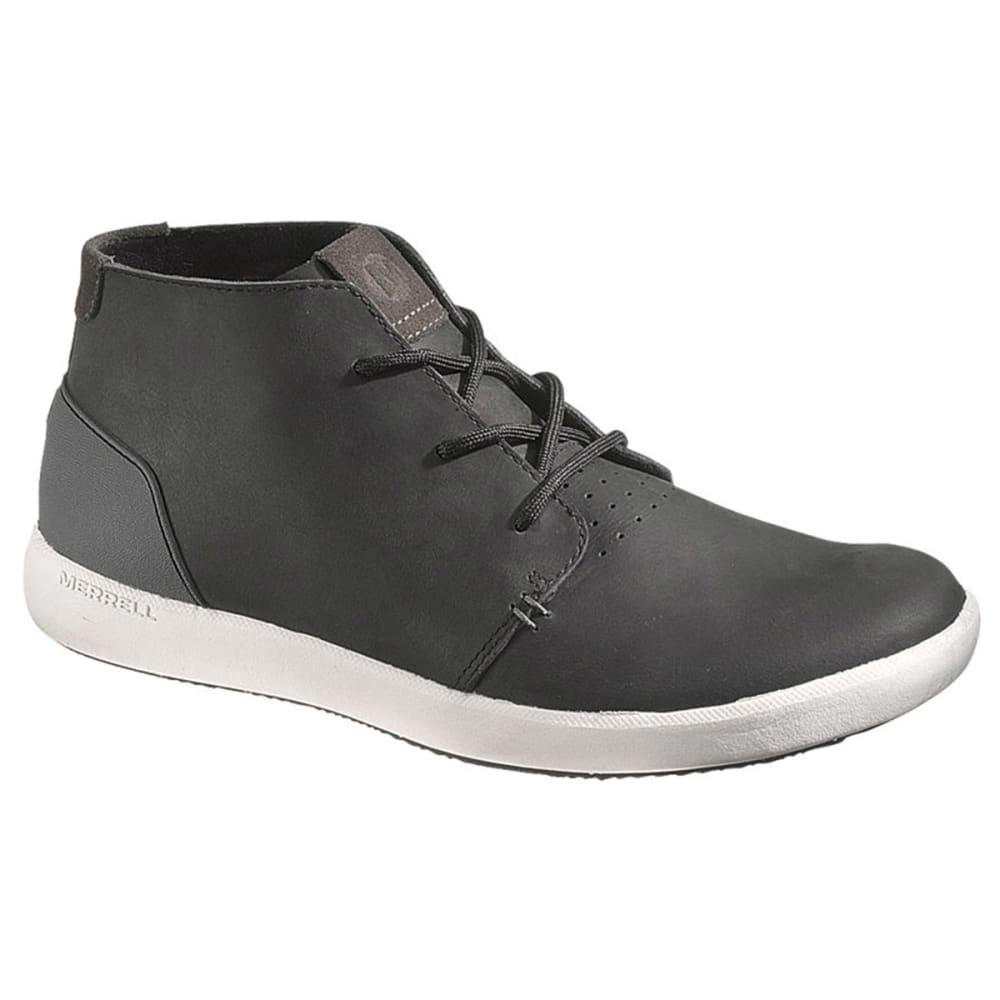 MERRELL Men's Freewheel Chukka Shoes, Black - BLACK