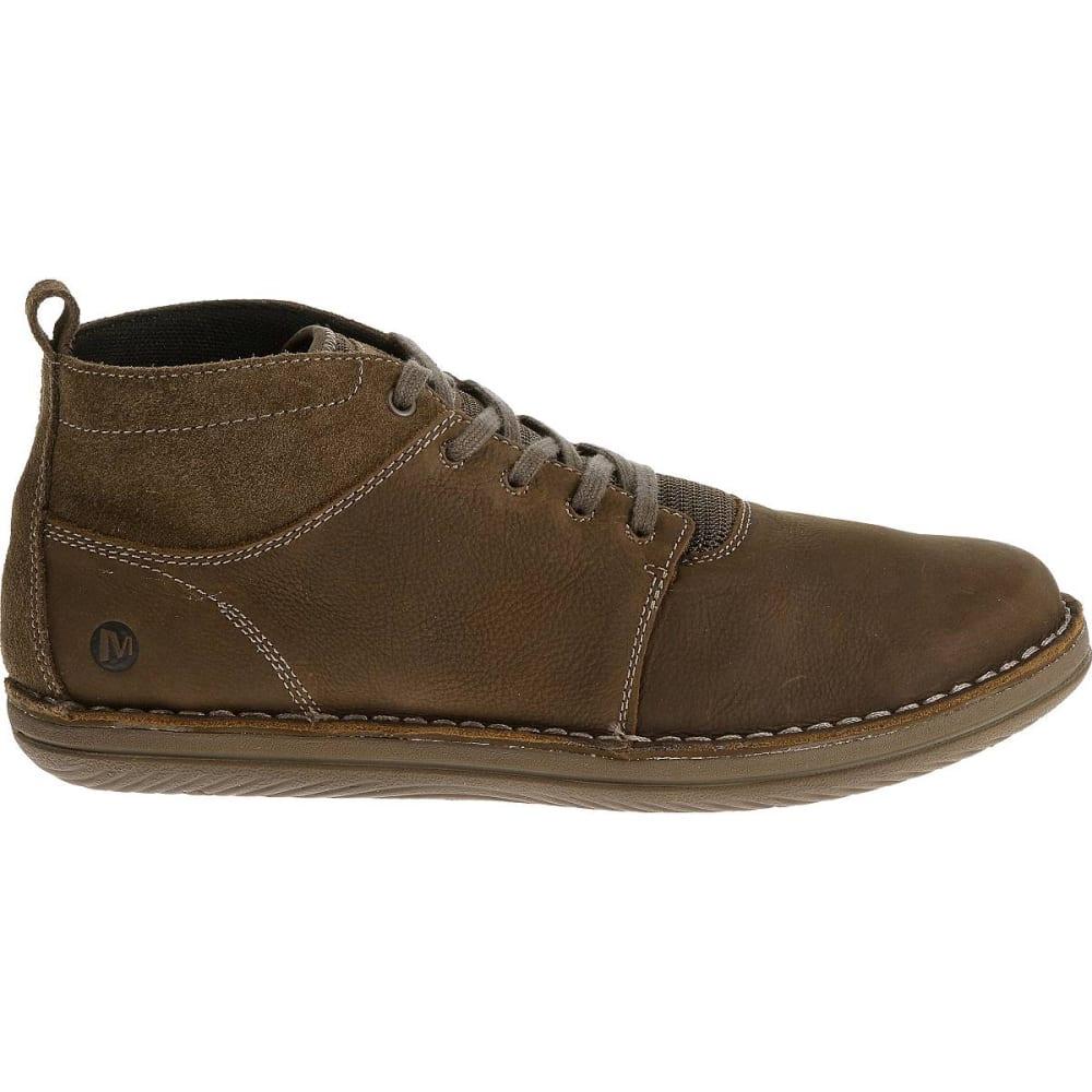 ... MERRELL Men's Bask Sol Mid Shoes, Moss - ...