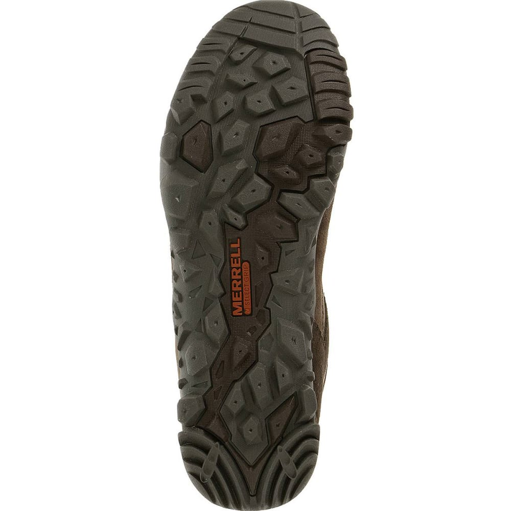 MERRELL Men's Telluride Waterproof Hiking Shoes - ESPRESSO