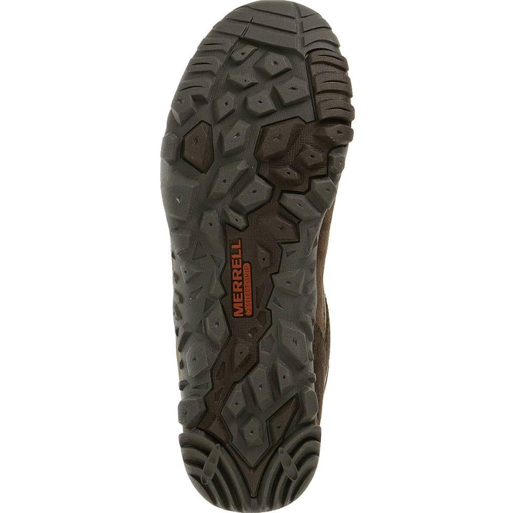 MERRELL Men's Telluride Waterproof Hiking Shoes - ESPRESSO
