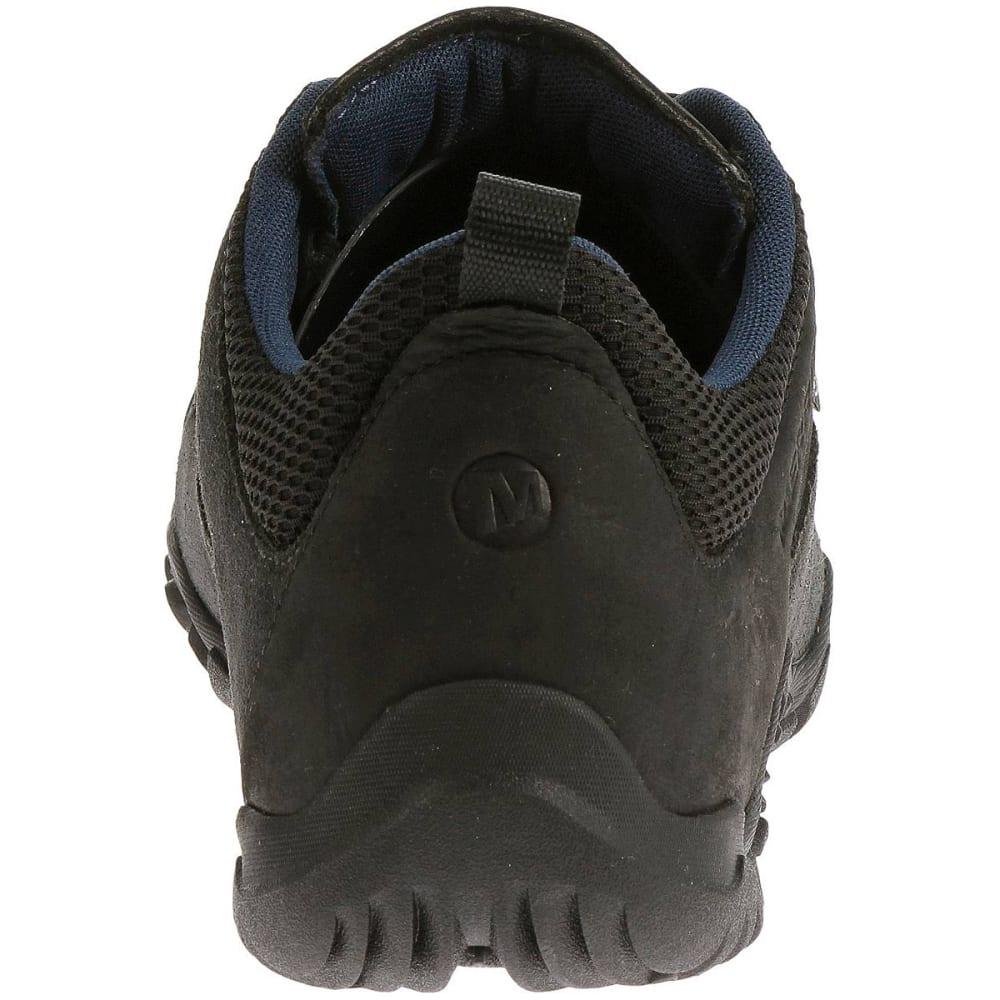 MERRELL Men's Telluride Waterproof Shoes, Black - BLACK